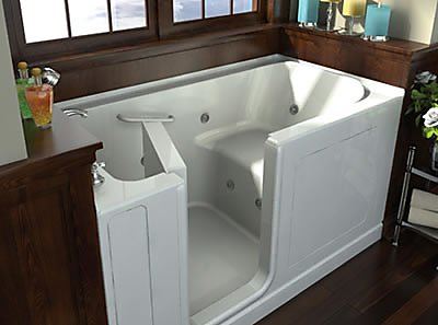 By Switching For A Bathtub That Is Much More Accessible, You Can Greatly  Reduce The Change Of A Serious Injury From Sliding And Falling.